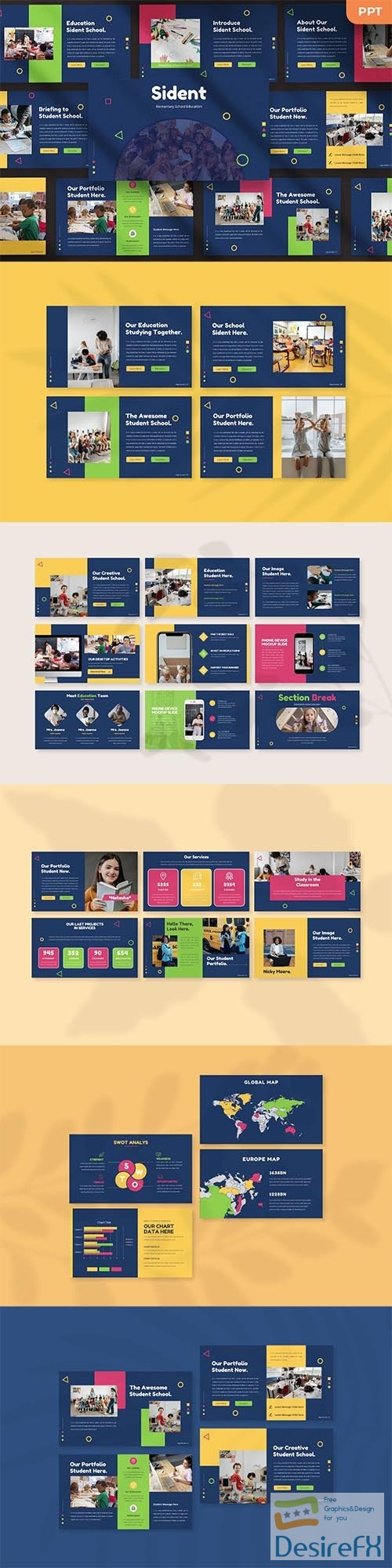 Sident - Kids Powerpoint, Keynote and Google Slides Template