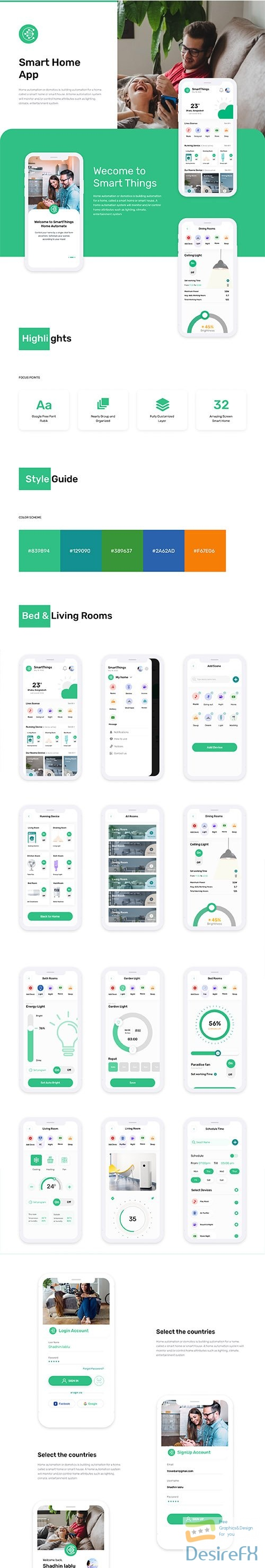 Smart Home Things - UI8