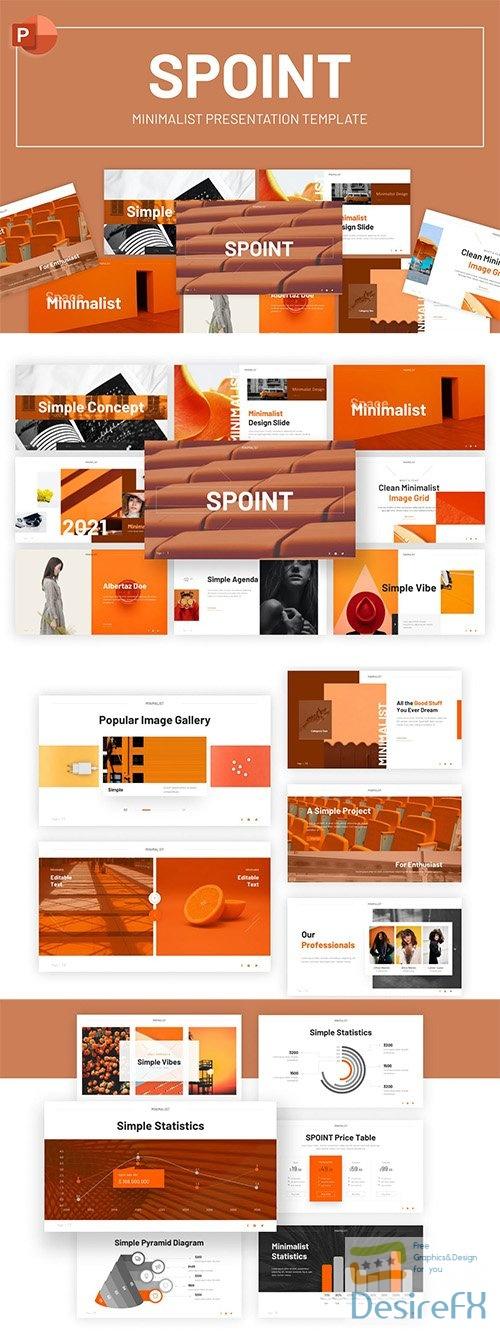 Spoint Multipurpose Minimalist PowerPoint Template