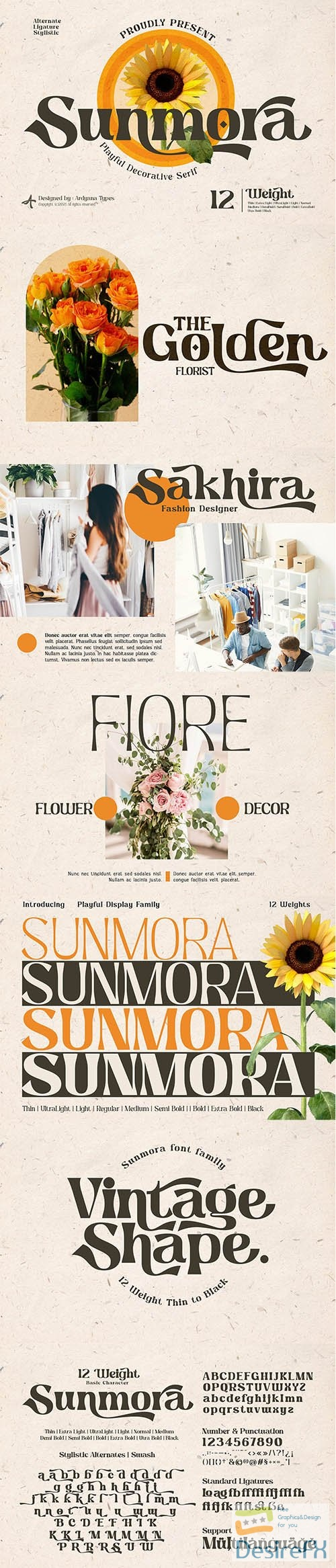 Sunmora - Playful Decorative Serif 6320585