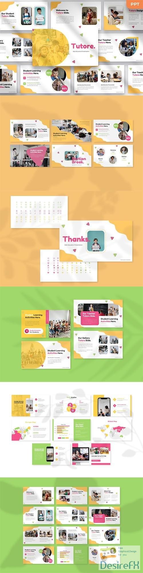 Tutore - Kids Powerpoint, Keynote and Google Slides Template