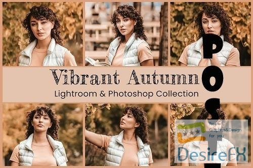 Vibrant Autumn Lightroom Photoshop - 6341178