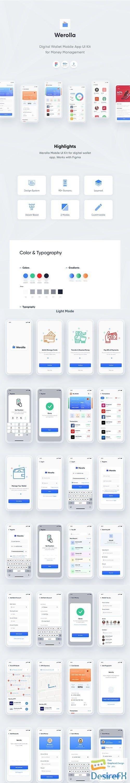 Werolla - Mobile App UI Kit for Wallet, Finance & Banking App - UI8