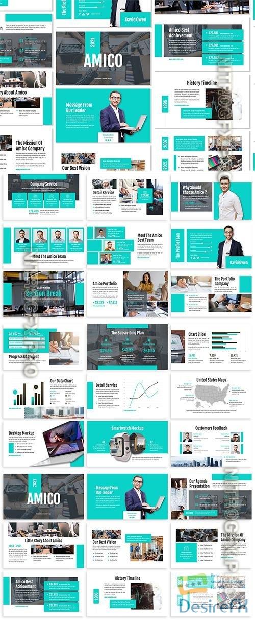 Amico - Business Template Prensentation