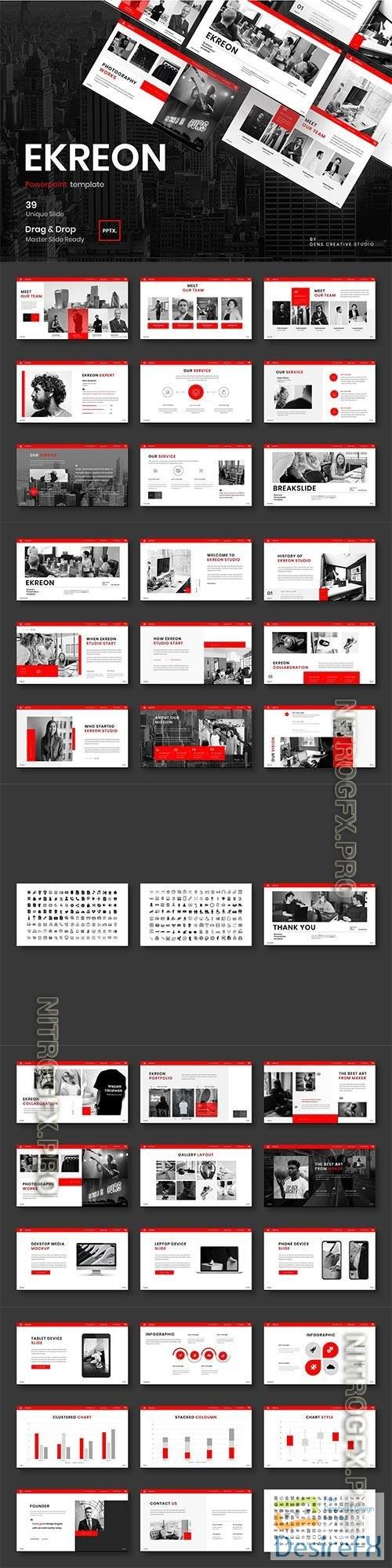 Ekreon – Business Powerpoint, Keynote and Google Slides Template