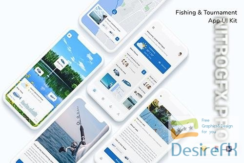 Fishing & Tournament App UI Kit