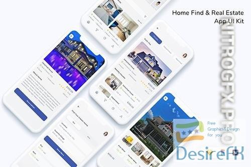 Home Find & Real Estate App UI Kit