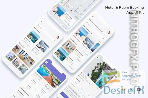 Hotel & Room Booking App UI Kit