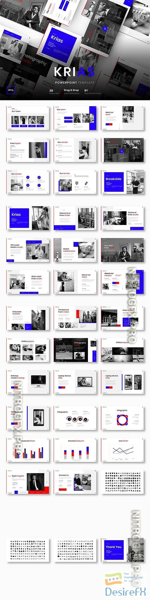 Krias – Business Powerpoint, Keynote and Google Slides Template