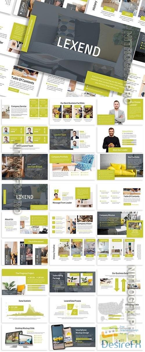 Lexend - Business Template Prensentation