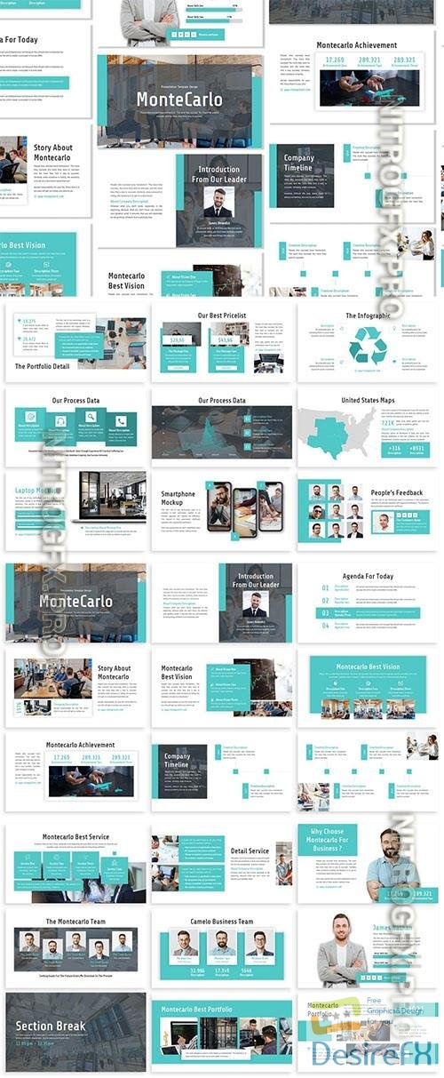 Montecarlo - Business Template Prensentation