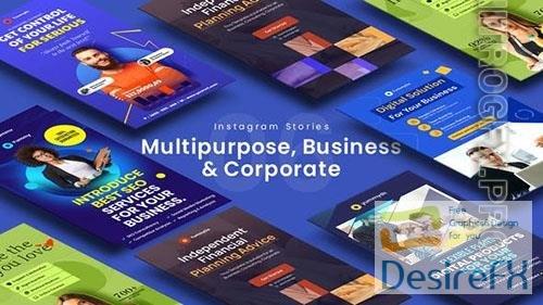 Multipurpose, Business & Corporate Instagram Stories 33566622