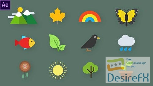 Nature Animated Icons 33560467