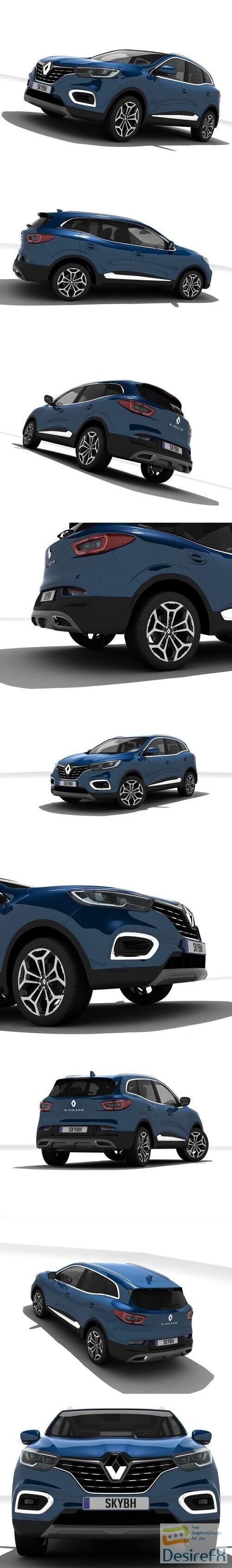 Renault Kadjar 3D Model