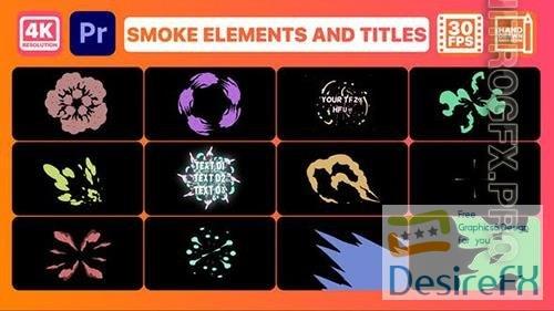 Smoke Pack 02 and Titles | Premiere Pro MOGRT 33274160
