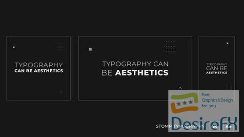 Stomp Typography Promo 33531134