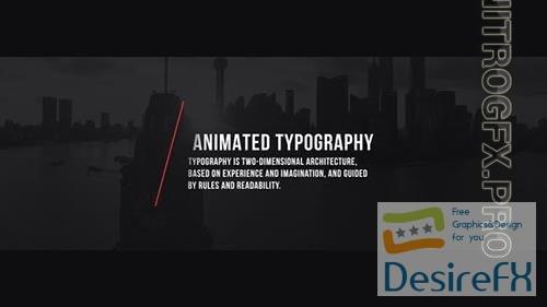 Typographic Elements | Premiere Pro 24827630