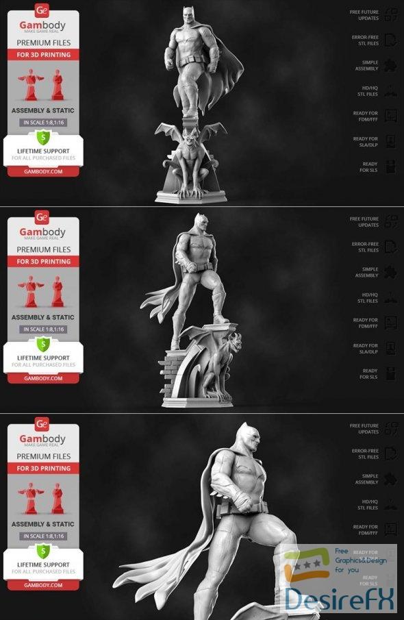 Batman Dawn of Justice 3D Print