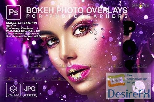 Gold glitter overlay, Sparkler overlay, Dust photoshop layer V6 - 1447928