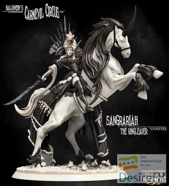 Sangrariah The Ringleader 3D Print