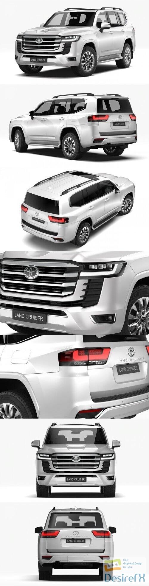 Toyota Land Cruiser 2022 3D Model