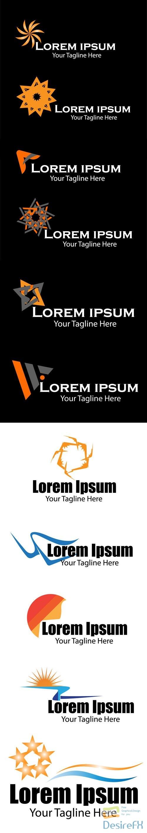 11 Minimal Logo Vector Designs Pack