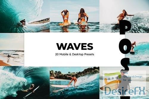 20 Waves Lightroom Presets and LUTs - 6565479