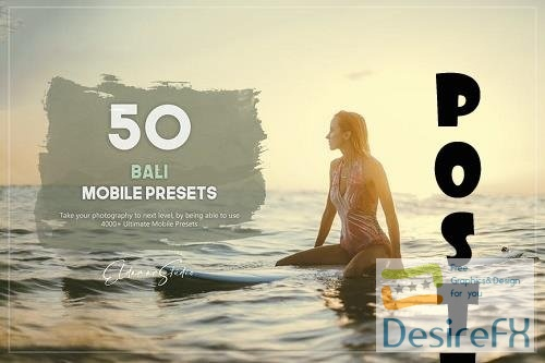 50 Bali Mobile Presets Pack - EY9958S