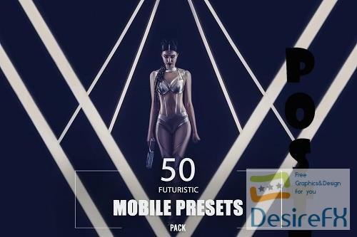 50 Futuristic Mobile Presets Pack - NZ4EM5H