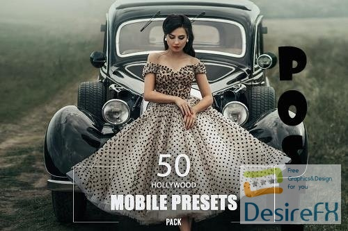 50 Hollywood Mobile Presets Pack - 9SE3KUY