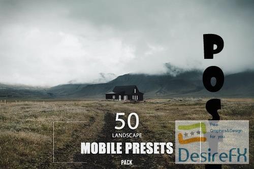 50 Landscape Mobile Presets Pack - 2E5X7QF