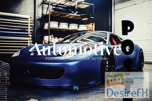 Automotive Photoshop Action - FRXUPKD