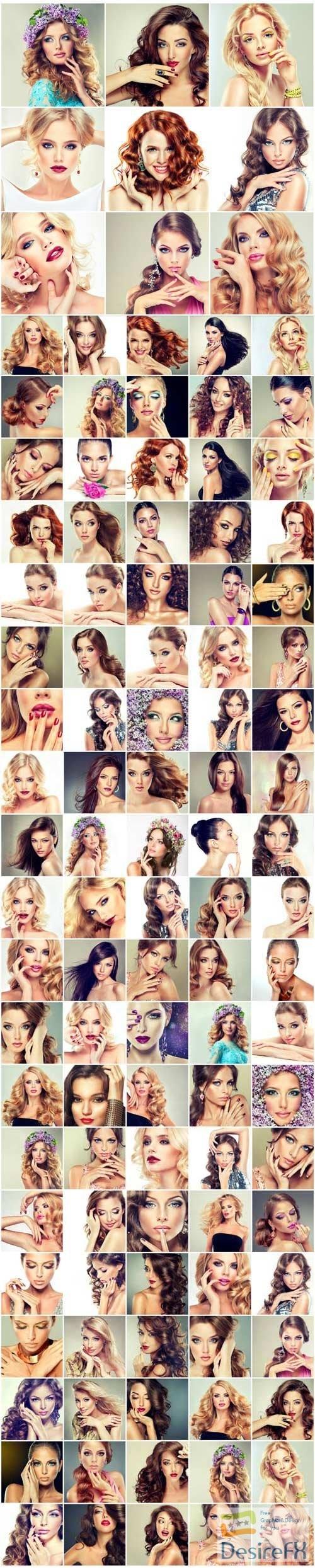 Bundle beautiful women and charming young girls
