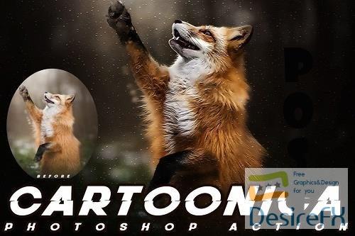 Cartoonica Photoshop Action - NB2KPCX