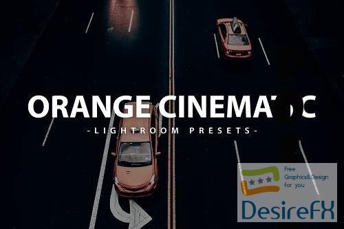 Cinematic Orange Lightroom Presets Pack - 5DCPF7K