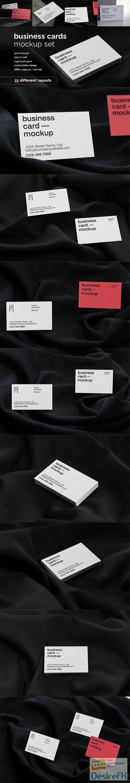 CreativeMarket - Business Card Mockup 6515074