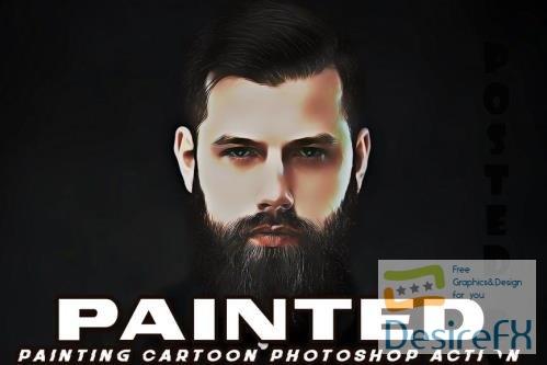 Digital Painted Photoshop Action - DXGDYMA