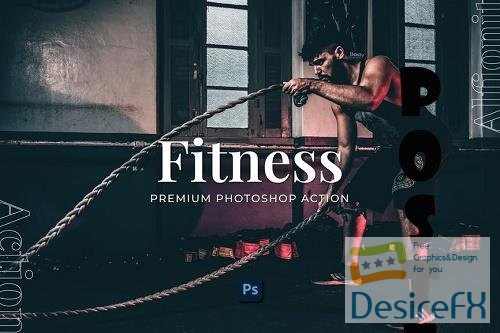 Fitness Photoshop Action - AY2YWMC