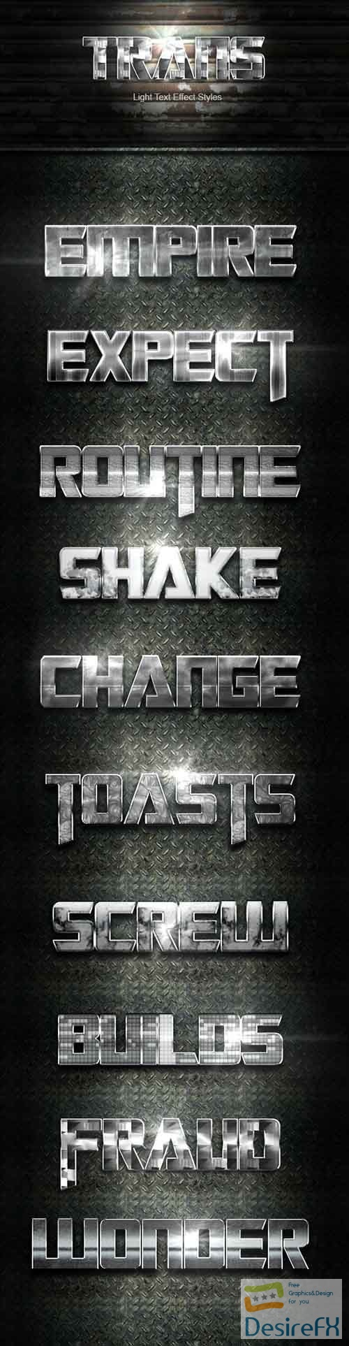 GraphicRiver - Trans Silver Text Effect V08 33392384