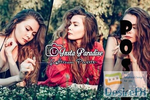 Instagram Paradise Lightroom Presets Mobile and PC - YVFYSHE