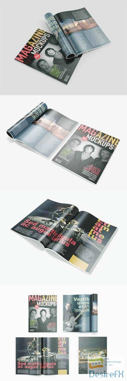 Multipurpose Magazine PSD Mockups Templates