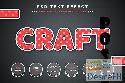 Paper Sticker - Editable Text Effect - 6578848