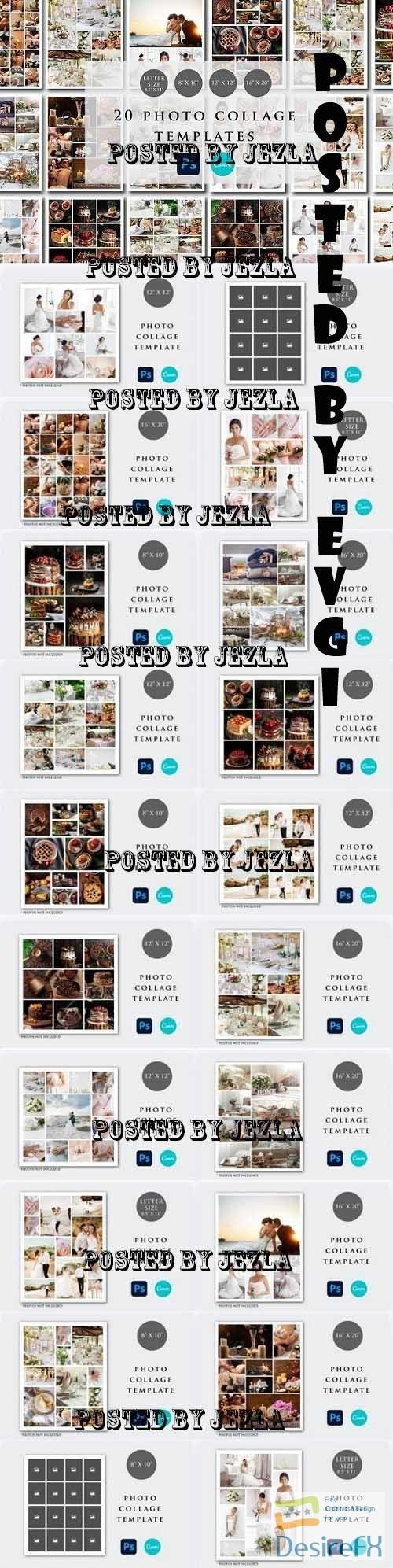 Photo Collage Template Bundle