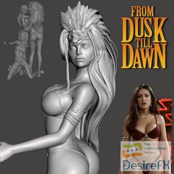 Santaniko Pandemonium From Dusk till Dawn 3D Print