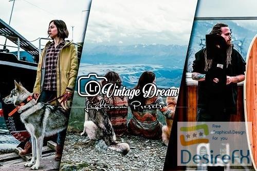 Vintage Dream Lightroom Presets Mobile and PC - 856RLW7